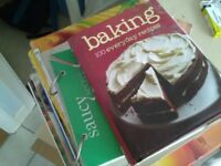 Cook books, various