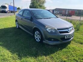 2006 VAUXHALL ASTRA 1.4 16V SXI SPORTS HATCH-XP PACK SYLING-12 MONTHS MOT-54,000 MILES-HISTORY