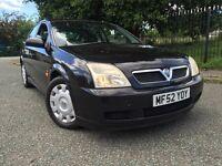 2002 (52) Vauxhall Vectra 1.8 LS 16V 5dr 1 OWNER MoT'd HPi Clear 2 KEYS!