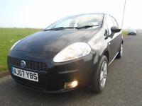 FIAT GRANDE PUNTO - 5 DOOR - BLACK - Low mileage - 2007 - Great condition