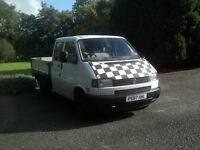 1996 Vw t4 doka pickup.
