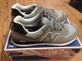 New balance 574 classic men's trainers size 12.5
