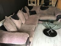 Excellent condition 2 year old corner sofa
