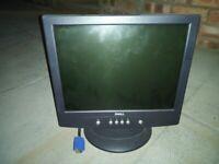 Small Dell VGA PC Monitor