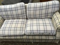 Laura Ashley two seater FREE LONDON DELIVERY.