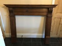 Gorgeous Solid Wood Fire Surround