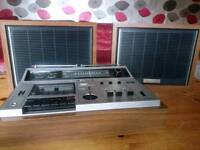 Sony CF-620 vintage stereo cassette receiver