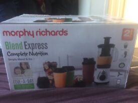 Morphy Richards express nutrition blender