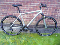 Ridgeback Dual Track X2.2 27 speed Hybrid Bike (Large) in Immaculate Condition