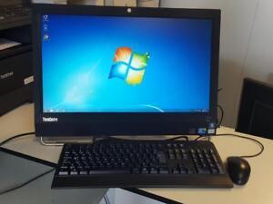 Ordinateur tout-en-un Lenovo Core i3-550, 4 Go ram, 320 Go, Windows 7, écran 23 pouces 1080p, caméra,  Wifi
