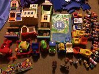Large bundle of ELC Happyland toys