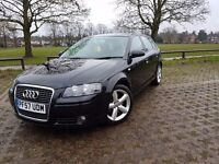Audi A3 2.0 TDI (170) Sportback 5dr - PRICE REDUCED TO SELL THIS WEEKEND! FASH , Very Good Conditon!