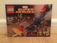 Brand new, sealed Lego Marvel Superheroes Ant-Man Final Battle set 76039