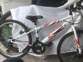 "Apollo Tokko 2014- 24"" children's age 8 plus. hybrid bike. 18 gears. Good condition."