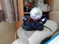 Disco balls of light