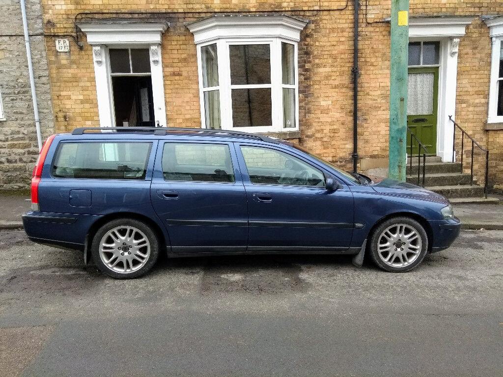 Volvo V70 D5 SE Blue, 2002, Manual, Full Service History, 169000 miles