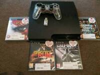 300gb ps3 with games