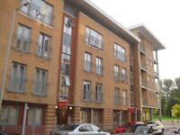 Large 2 bedroom, second floor, modern flat in Hulme with secure car parking. No agent fees.
