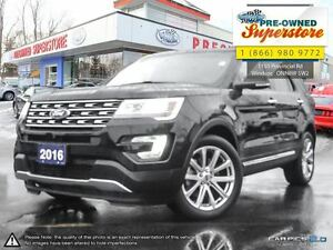 2016 Ford Explorer Limited>>>NAV, AWD<<<