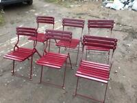 Beer garden chairs high quality