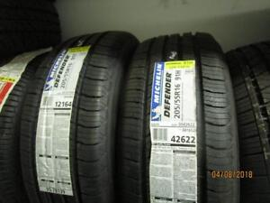 205/55R16 PAIR OF 2 ONLY NEW MICHELIN A/S TIRES