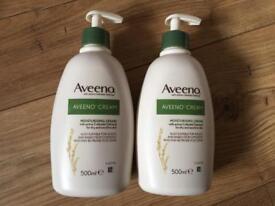 Aveeno 500ml X 2 creams