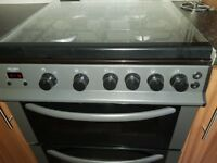 Black grey 60cm gas cooker