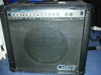 Crate guitar amp 60watt