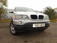 01 BMW X5 SPORT 3.0 AUTOMATIC 4X4,MOT OCT 018,2 KEYS,11 SERVICE STAMPS,STUNNING FAMILY 4X4 JEEP