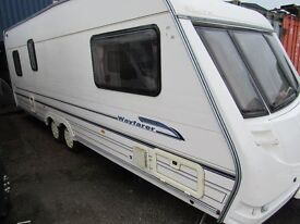 Sterling Wayfarer Twin Axle Double Dinette Touring Caravan
