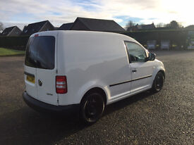 VW CADDY 1.6 TDI 140 BHP 2012 NO VAT 26k miles uprated brakes + extras