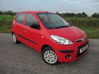 Hyundai i10 Only 40k 1 Owner Full Dealer S/History Years MOT No Advisories New Tyres. £30 RFL