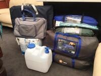 Full camping equipment