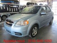 2011 CHEVROLET AVEO AUTOMATIQUE+A/C**51987 KM**