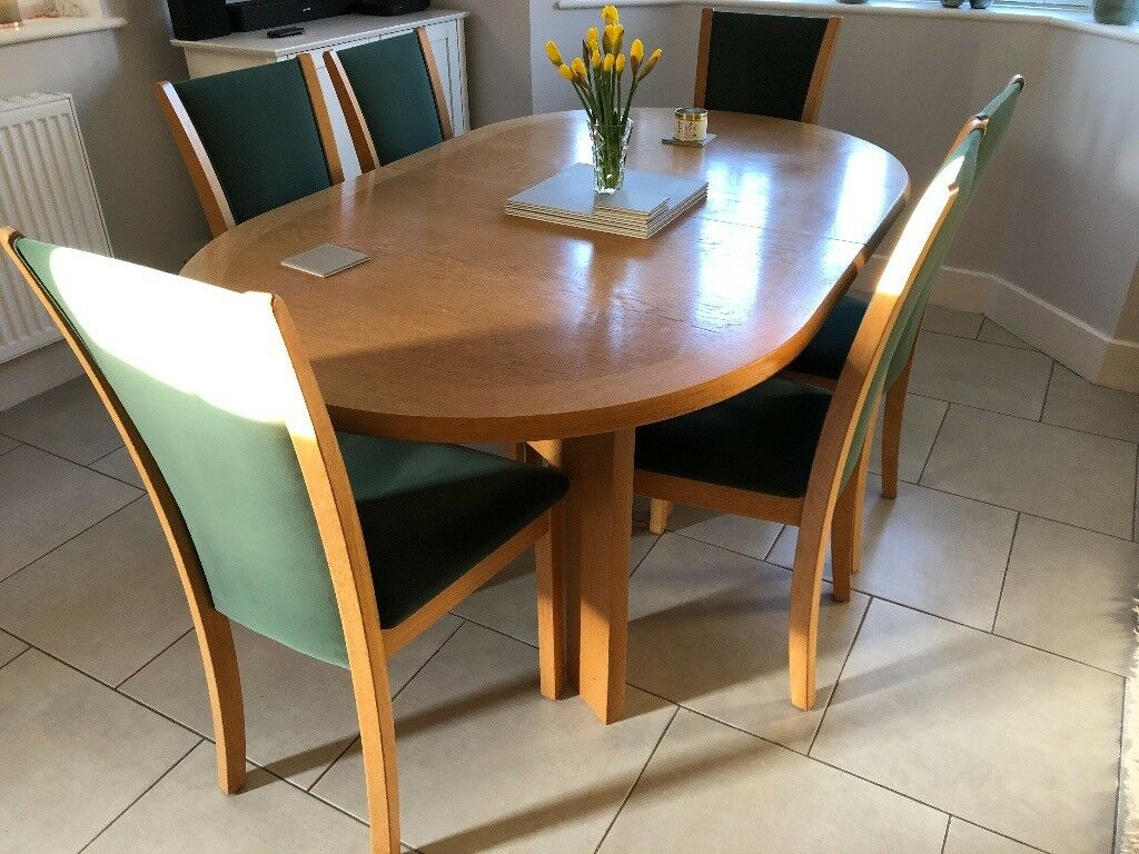 Skovby Extending Dining Table And 6 Chairs
