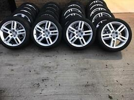 "Genuine 19"" Audi A6 S line alloys"