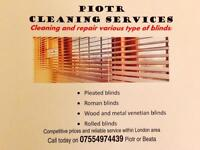 Blind cleaning and repair
