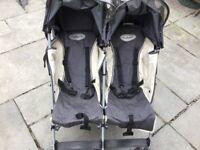Maclaren twin/double pushchair