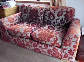 2 PIECE SETTEE AND CHAIR