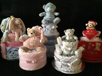 Personalised Nappy Cakes for Baby Shower & New Baby