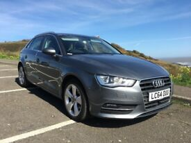 Audi A3 1.4 TFSI Sport 5door - 2015 - full history - 150bhp - £30 tax