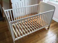 John Lewis Alex Cot / Toddler bed