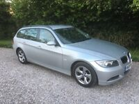 BMW 318D Touring, 2006, Silver, drives without fault