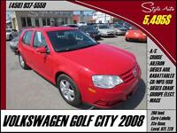 2008 Volkswagen City Golf A/C CRUISE MAGS USB