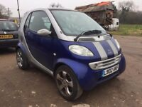 Smart Car Smart 2002 0.6 Passion Hatchback 3d 599cc Automatic SPARE OR REPAIR