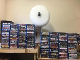 260 BLU RAY MOVIES BLU-RAY DVD