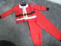 Santa pyjamas 3-4 years