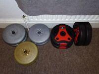 Weight Plates, 52kgs