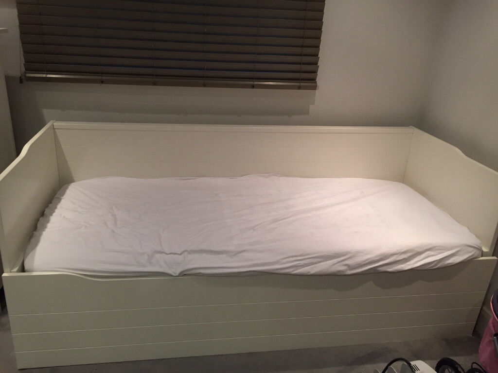 Ikea Day Bed - Converts into a single or double bed (frame only no ...