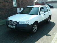 2006 56 SUBARU FORESTER 2.5 AWD AUTOMATIC ESTATE * SERVICE HISTORY * 12 MONTH MOT ESTATE IN AYRSHIRE